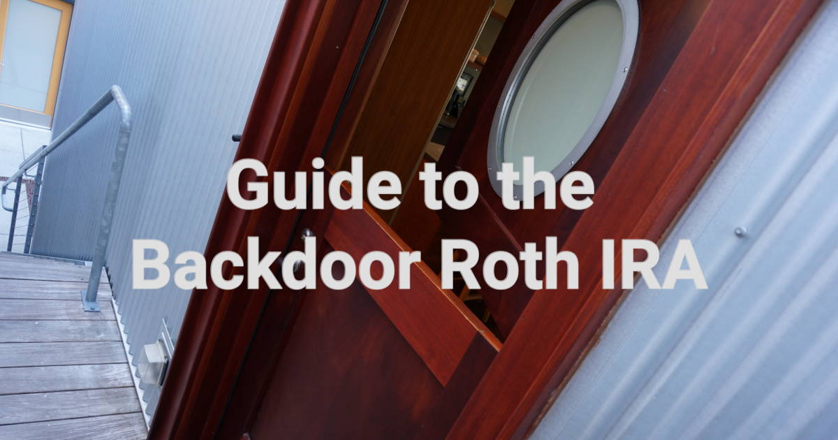 guide to backdoor roth ira